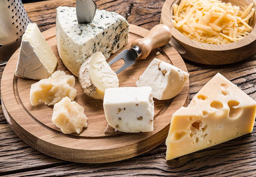 tipos de quesos de España y el mundo