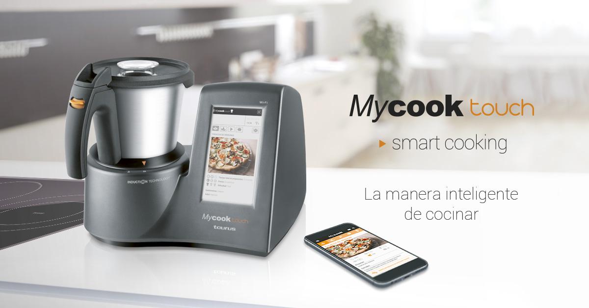 Muy dulces robot de cocina taurus mycook opiniones for Robot de cocina taurus master cuisine